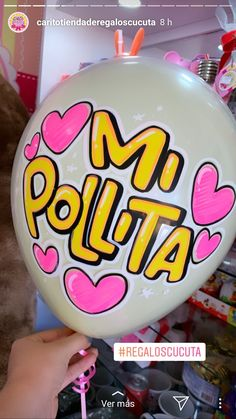 Pretty Letters, Diy And Crafts, Paper Crafts, E Craft, Mr Wonderful, Cute Texts, Notes Design, Letter Balloons, Ideas Para Fiestas