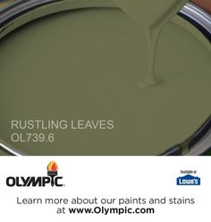 RUSTLING LEAVES OL739.6 is a part of the greens collection by Olympic® Paint.