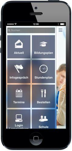 Ihre App für Bildung und Schule - Mobile Shop für Bücherbestellung, Pausen-Snack und Mobiles Reservationssystem für Mittagessen und Lehrmittel. App jetzt live testen: http://nextvisionapps.com/de/online-demo-bildung