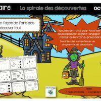 Préscolaire-spirale des découvertes-Caroline Gingras-Créations Creations, Boutique, Products, Boutiques