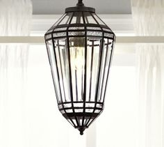 Nadya Moroccan Pendant | Pottery Barn, $279.99 (very tempted by this for over the table or do I need two???)