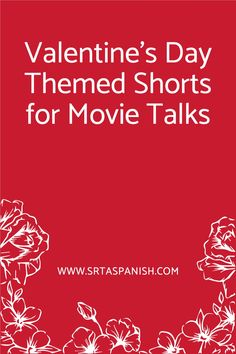 Are you looking for February and Valentine's Day activities for your Spanish classes? Your Spanish classroom will love any of these love-themed short films for a Movie Talk! Perfect for middle school and high school students to get lots of listening and input for vocabulary in Spanish! Haven't tried a movie talk or picture talk before? That's okay! I have some tips and tricks to help you get started, too! Click the link to check out the round up of cortos! Spanish Lesson Plans, Spanish Lessons, Valentines Day Activities, Class Activities, Middle School Spanish, Movie Talk, Learning Techniques, Spanish 1, Barbie Life