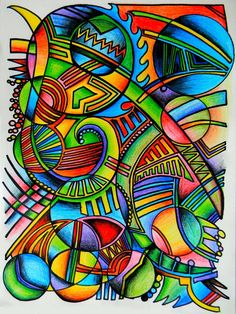 Colorful Chaos by lzoltick on DeviantArt