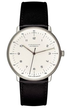 Max Bill Watch Automatic with Numbers