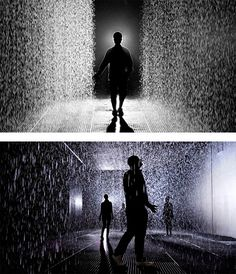 Rain Room: Art Installation by rAndom International | Inspiration Grid | Design Inspiration