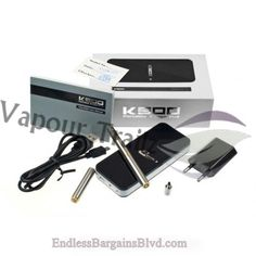 Vapour Trailz-Vaporizer Outlet - Kamry K500, $64.99 (http://www.endlessbargainsblvd.com/kamry-k500/)Overview Authentic Kamry Works with Liquid Oils Multiple Colors Available Rechargeable Li-Ion Battery Sleek & Compact Design Kit Includes:  1 pc. Kamry K500 3 pc. Cartridge 2 pc. Atomizer Head 1 pc. USB Charger 1 pc. Wall Adapter 1 pc. Charging Case 1 pc. User Manual