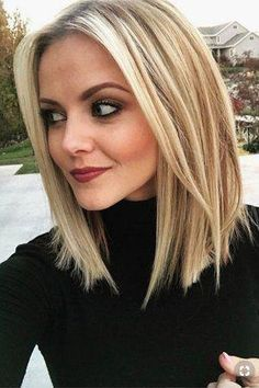 Frisuren Lange Haare 2019 – Stylish and Sweet Lob Haircut, Long Bob Hairstyle , Everyday Hair - New Site Bob Hairstyles For Fine Hair, Long Bob Haircuts, Fall Hairstyles, Haircut Long, Hairstyles Videos, Hairstyles 2018, Straight Haircuts, Anime Hairstyles, Trendy Haircuts