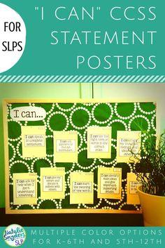 Schools SLPs, impres