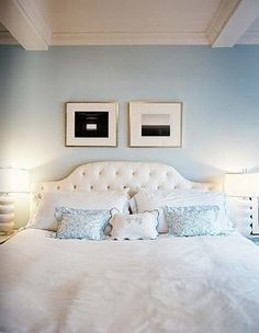 Room paint color. great shade of blue