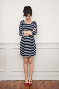 Sew Over It Emma Dress - Intro to Sewing with Knit Fabrics https://sewoverit.co.uk/product/intro-to-sewing-with-knit-fabrics-online-class/