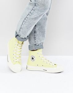 41b7f56bbeb Converse Chuck Taylor All Star 70 Hi Sneakers In Yellow Yellow Trainers