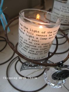 Repurposed Antique Chair Springs Candle Holder Visit Sleepy Poet - Cool diy spring candles and candleholders