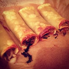 Diets and Riots: Syn Free Spring Rolls (Slimming World Style) - a great idea in principle, but mine didn't turn out anything like this