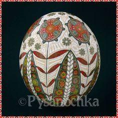 Real Ukrainian Pysanky Ostrich Pysanka Best by Halyna Easter Egg | eBay