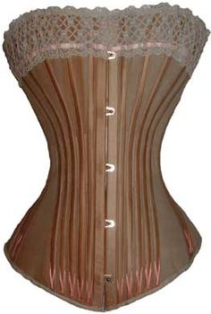 victorian corset *NO THANKS! ouch!!