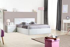 Best Chambre à Coucher Images On Pinterest - Lit adulte 140x190 cm gaby coloris noir