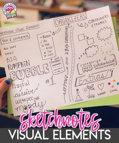 How to Get Started with Sketchnotes in the Classroom | Reading and Writing Haven #Sketchnotes #VisualNotetaking #EngagingELA