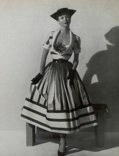Maggy Rouff, 1953.