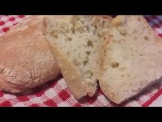 Ciabattine con licoli - YouTube Pane, Make It Yourself, Youtube, Food, Youtubers, Meals, Youtube Movies