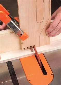 Tablesaw Box Joints - if I ever saw things, I think I would like to know this!