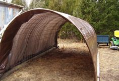 5 Uses for Livestock Panels | Peak Prosperity. Simple protection during the warm months.