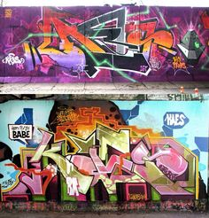 Nothing but funky graf by Kaes from Spain (http://globalstreetart.com/kaes).