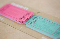ちぎって使う旅の付箋。 Ticket it チケット付箋 - まとめのインテリア / デザイン雑貨とインテリアのまとめ。