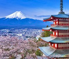 The incredible sight of Mount Fiji in spring season | 10 Reasons Why You Must Forget Europe and Visit Japan During Spring Season