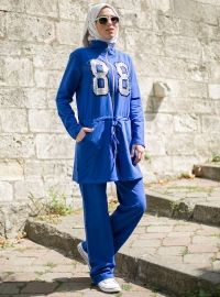 This company had the greatest variation of sportswear for muslims that I found. This particular suit is 95% polyester, 25% cotton. I'm wondering if it would be lightweight and comfortable but I have never ordered from them. Shipping to US is only $10