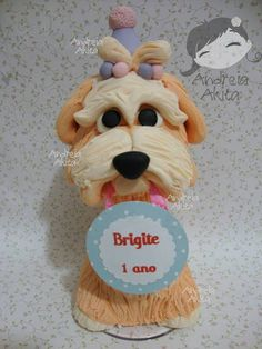 *SORRY, no information as to product used ~ Dog personalizado   Andreia  Akita   2D818D - Elo7