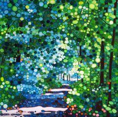 Towards the meadow by Ewa Adams