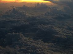 Whenever I can, I get the window seat on a plane. You never know what magic may show up on the window screen. On my way from Korea to Indonesia I happen to glance out at sunset. There was this theatrical display of clouds, thunder and lightening and of course the never-ending, always riveting sunset. It was heaps better than the movie playing inside.