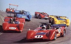 Can Am, Laguna Seca 1969: The Corkscrew turn 8. Made this turn 1000's of times.