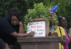 Protest in response to the Philando Castile shooting