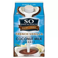 Best So Delicious Dairy Free French Vanilla Coconut Milk Creamer ...