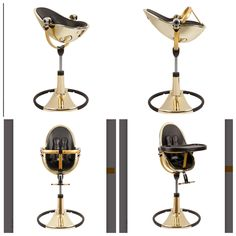 Bloom High Chair Gold