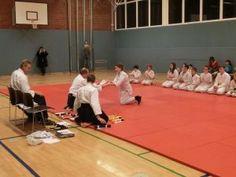 Aikido Kindertraining Linz, Kyuprüfungen 8. Februar 2013