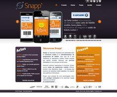 Snapp' - idéveloppement : création de site internet bordeaux #webdesign #frontend #backend