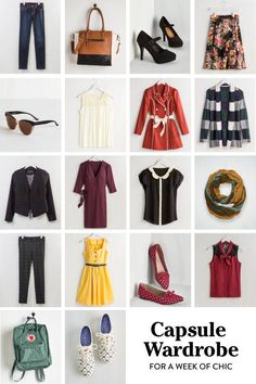 This Capsule Wardrobe Guarantees a Whole Week of Chic - Story by ModCloth