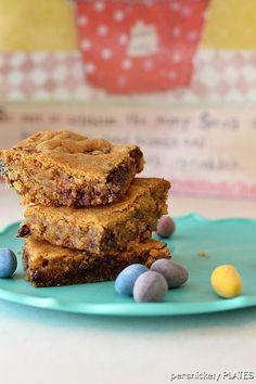 Cadbury Mini Eggs Cookie Bars