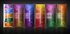 Asian Promotion Banners