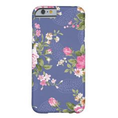 Cool Vintage Floral Pattern Retro Barely There iPhone 6 Case. See pictures Summer Iphone Cases, Iphone 6 Cases, Landscape Pictures, Artwork Design, Vintage Floral, Awesome, Amazing, Cool Stuff, Retro