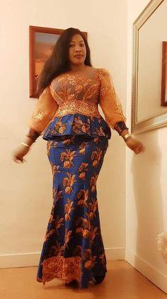 Latest African Fashion Dresses, African Dresses For Women, African Print Fashion, African Wear, African Attire, Ghana Dresses, Nigerian Lace Dress, African Fashion Traditional, African Print Dress Designs