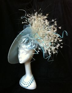 My New Saucer Block - side   BY TIFFANY AREY  #millinery #hats #HatAcademy