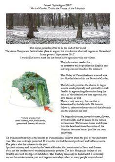 Nemeth Hajnal Aurora: 2012 Apocalypse Project, Pannonhalma End Of The World, Apocalypse, Aurora, Crochet Hats, Projects, Knitting Hats, Northern Lights