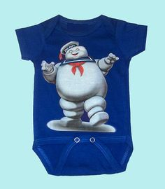 Ghost Busters Baby Onesie by thehappywhiner on Etsy, $13.00