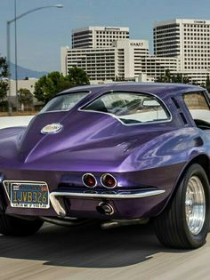 Split window Corvette