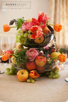Beautiful Fruit Centerpiece