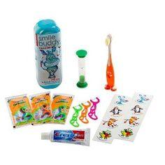 smilebuddy kids oral care kit.