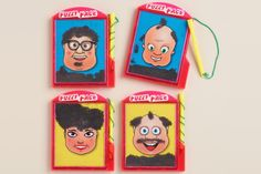Remember Wooly Willy from the days of your youth? You could spend hours spreading that magnetic dust all over his head to give Willy crazy beard and hair styles. This Fuzzy Face set comes with 4 fun faces that will delight you and bring out your inner kid.